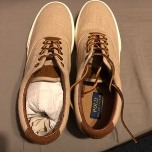 Brand new Polo Ralph Lauren shoes